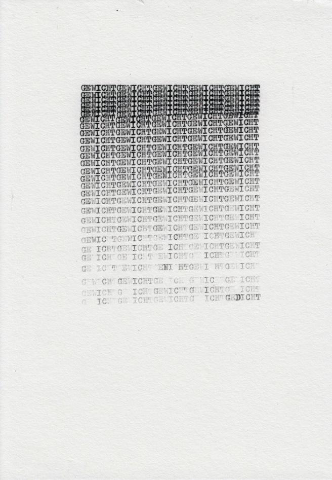 Federico Federici - Gewicht-Gedicht